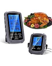 Filfeel Termometr do grilla, gospodarstwa domowego, kuchni, termometr do żywności, bezprzewodowy termometr do grilla, piekarnika i grilla