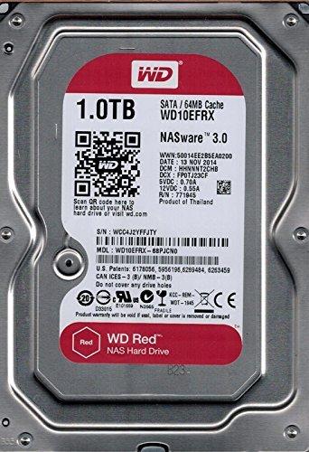 WD Red 1TB NAS Hard Drive - 5400 RPM Class, SATA 6 Gb/s, 64