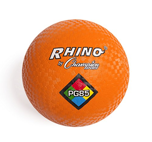 Champion Sports Playground Ball (Orange, 8.5-Inch)