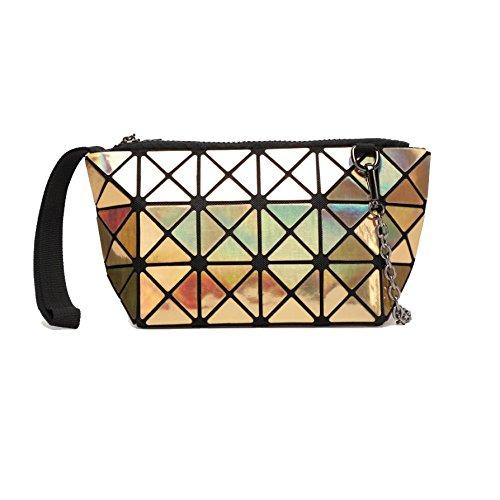Yxpnu piacere le viaggio Diamond di geometrica Bag Lasergold donne per 78WnqA45