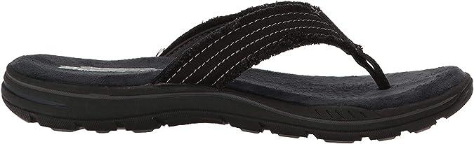 TALLA 41 EU. Skechers 65091, Sandalias de Punta Descubierta para Hombre