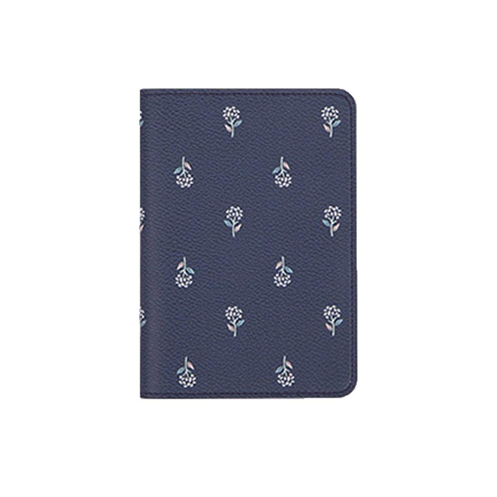 FinancePlan Womens Girls Fresh Flower Animal Passport Covers Credit Card Holder Wallet Bag