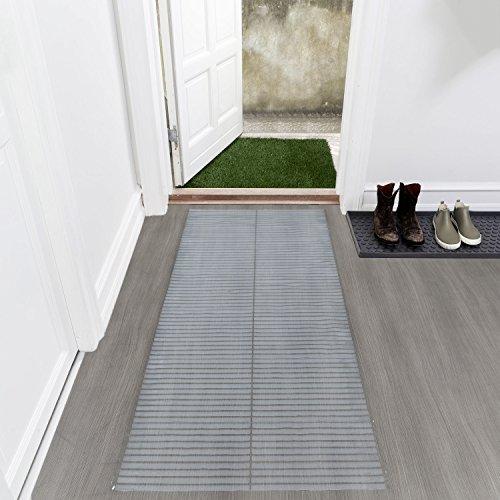Ottomanson HCP101-26X6 Hard Floor Clear Plastic Protector, 26