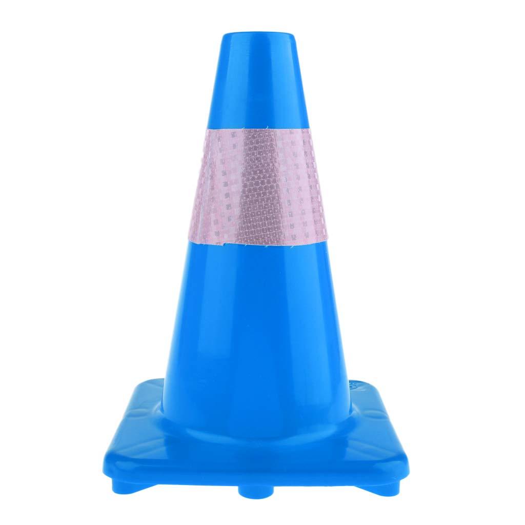 Baoblaze Premium 12.6inch Plastic Traffic Cone Multipurpose Construction Parking Road Work Area Cone for Various Activities