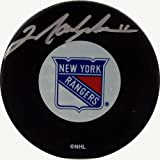 Steiner Sports NHL New York Rangers Mark Messier Rangers Autograph Puck