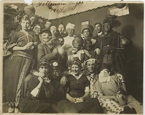 Celebrity Framed Art An 8 x 10 Photo Framed Origins-Halloween 1914]()