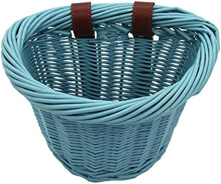 Arts and Crafts. KINGWILLOW Bike Basket Little Box Made by Willow for Bicycle