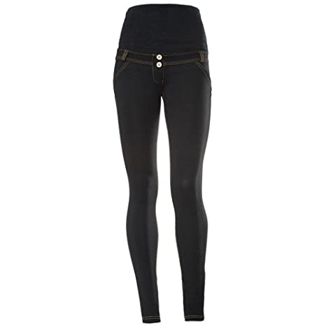 1c97f497c45a0 FREDDY WR.up Shaping Effect Skinny Maternity Jeans - Dark Blue (M) at  Amazon Women's Clothing store: