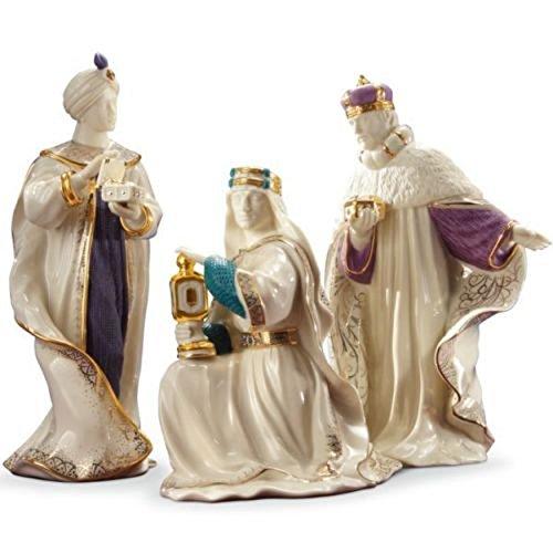 Lenox First Blessing Nativity Three Kings Wise Men 3 Figurines Gaspar Melchior Balthazar 1st Quality (Nativity Lenox)
