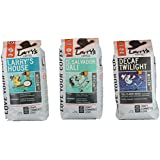 Larry's Beans Coffee Smooth Flavor Whole Bean Variety Pack, 3-count