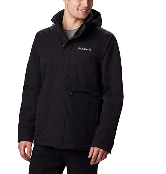 Columbia Boundary Bay, Chaqueta impermeable, Hombre: Amazon ...