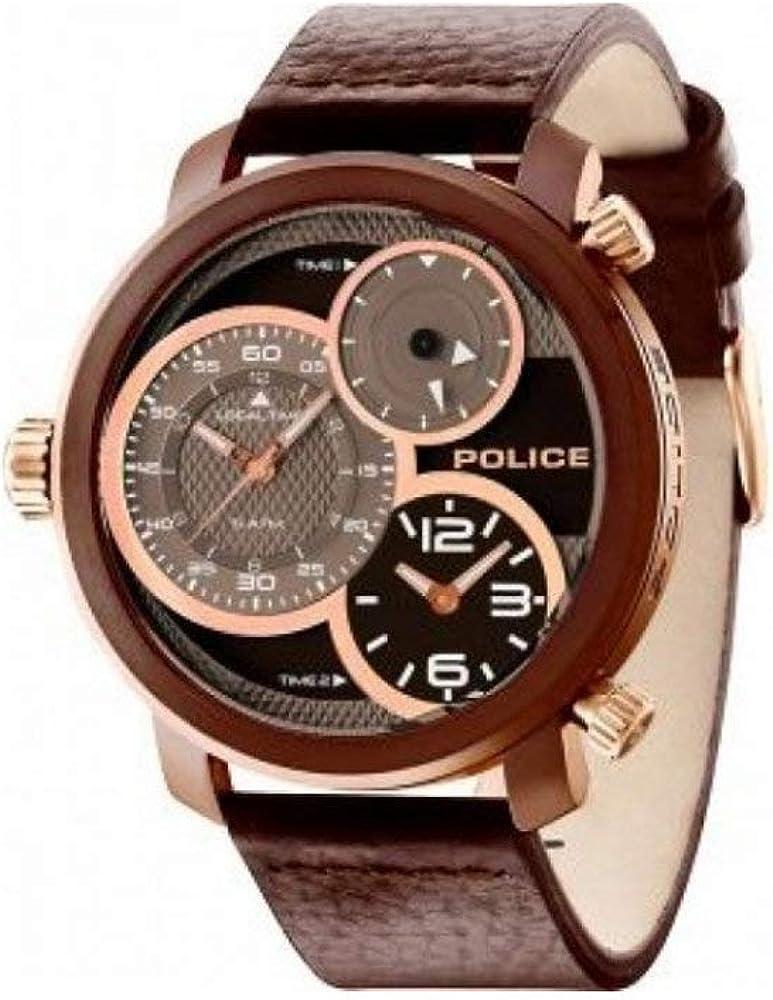 Police PL14500X/03_zv Reloj de Pulsera para Hombre Nuevo y Original