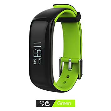 JSGJSH Relojes de Pulsera Inteligente Pulsometer Tensiómetro Smartwatch Alarma por Vibración Reloj Pulsera Inteligente Smart Podómetro Banda para xiomi Vivo ...