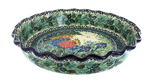 Polish Pottery Teresa Pie Plate
