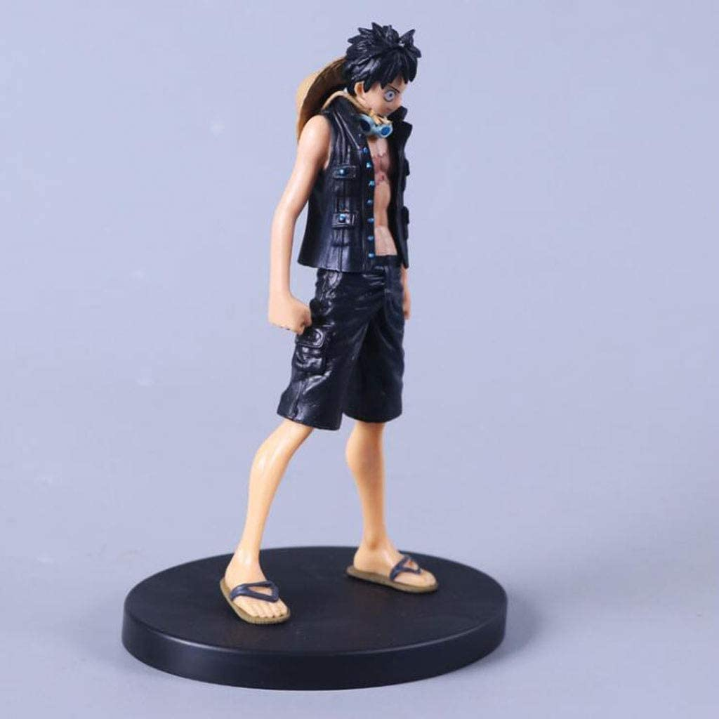 18CM Anime One Piece Monkey D Luffy Action Figure PVC Statue Model with Box