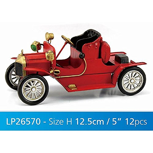 Lesser & Pavey Metal Vintage Classic Car Collectible, Red Lesser & Pavey Ltd uk home LESGY LP26570