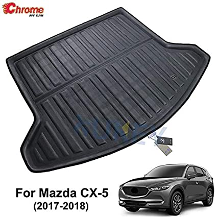 Car Rear Boot Liner Trunk Cargo Mat Tray Floor Carpet Mud Pad Protector For Mazda Cx5 Cx-5 2017 2018 Car-styling Exterior Parts
