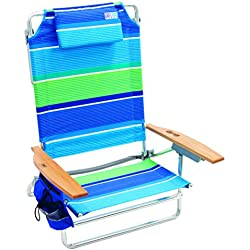 Rio Beach Big Kahuna Extra Large Folding Beach Chair - More Than A Blue Stripe