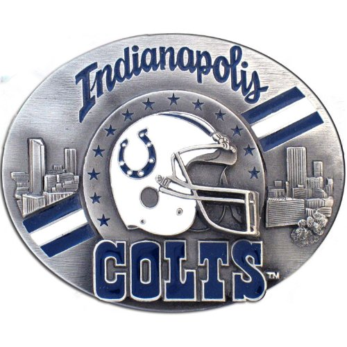 NFL Indianapolis Colts Belt Buckle by Siskiyou Gifts Co, Inc.