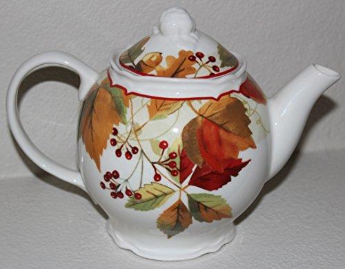 222 Fifth Harvest Festival Teapot