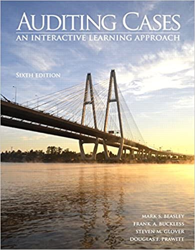 Auditing cases an interactive learning approach 6th edition mark auditing cases an interactive learning approach 6th edition 6th edition fandeluxe Gallery