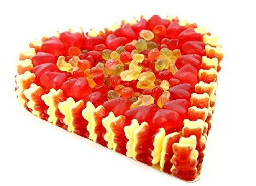 Fruchtgummi Herz roter Traum Gummibärchen und Mellow Speck 800g