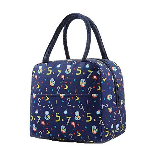 c4492b9f5f9b Ketuan Lunch Bag Cooler Bag Women Tote Bag Fashion New Portable Waterproof  Thickness Picnic School Lunch Bag Office