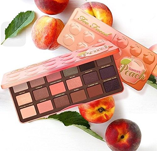 Hot Sales 18 color Sweet Peach Eye Shadow Collection Palette Eye Makeup