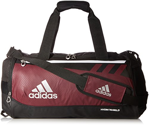 adidas Team Issue Duffel Bag, Maroon, Small ()