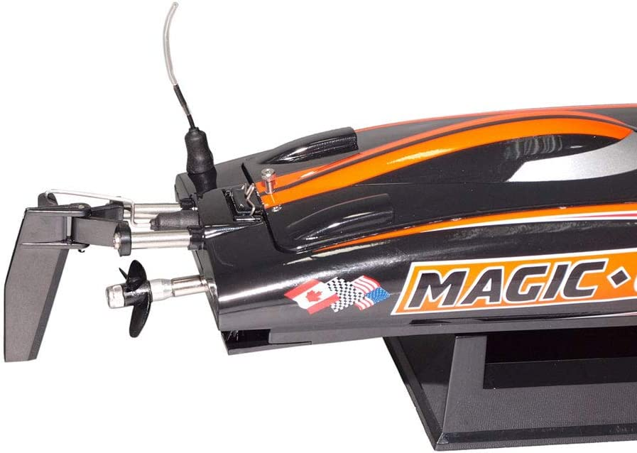 51sG5jIufkL AC SL1000 in RC Rennboot Magic Cat von Joysway