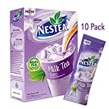 Taro Milk Tea Nestea Flavored Powder Mix Made From Delicious Real Brewed Black Tea Leaves Enjoy Hot or Cold Combine with Boba Pearls or Tapioca Smoothie Refreshing All-In-One Instant Drink Low Calorie