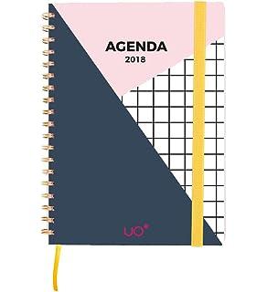 UO Paradise - Agenda anual 2019 semana vista: Amazon.es ...