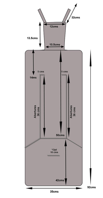 Colchoneta Universal Reversible con Aperturas para silla de paseo Corazones Azul