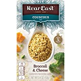 Near East Couscous Mix, Broccoli & Cheese 5.4oz.(Pack of 12)
