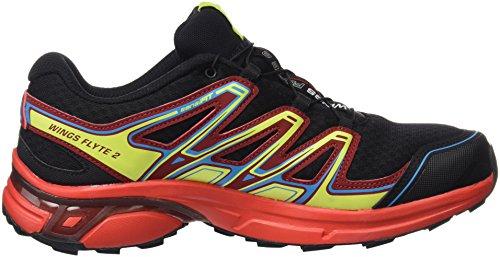 Running Pied Dalhia Red 2 Wings Trail Noir à et Rouge Black Chaussures Red Fiery Salomon Homme de Course Flyte GTX w7Hz7Uq