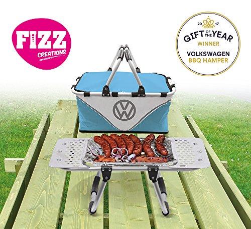 Licenza ufficiale Volkswagen cesto da picnic Barbecue stand e Cool Bag