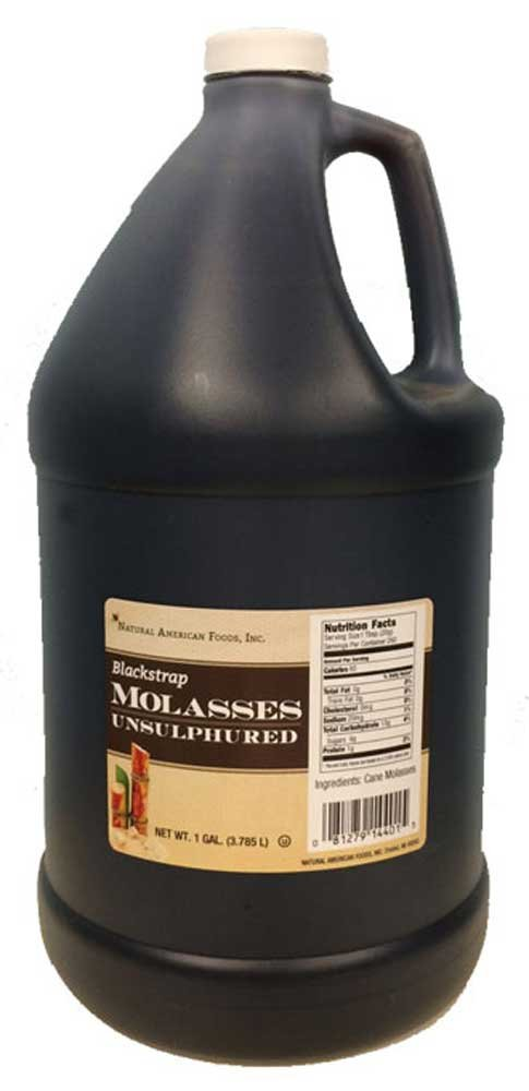 Groeb Farms Blackstrap Molasses, 1 Gallon -- 4 per case. by Natural American Foods (Image #1)