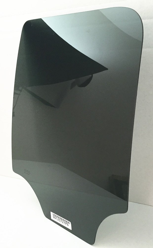 4 Door Extended Cab Pickup Driver Side Left Rear Door Window Glass C1500 K1500 C2500 K2500 C3500 K3500 NAGD Fits 2014-2018 Chevrolet Silverdao /& GMC Sierra