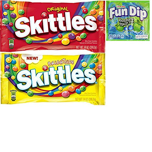 Skittles Bulk Candy With Skittles Original and Skittles Brightside Candy. Convenient One-Stop Shopping For Skittles Bite Size Candies. Easy to Source Popular Products With 1 Click. Snacking Heaven!