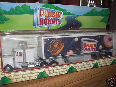 1995 Dunkin Donuts Tractor and Trailer