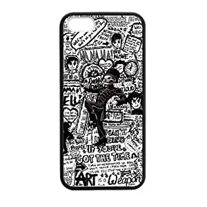 Fashion MCR My Chemical Romance Hard Snap-On Coated Cover Case for iPhone 5 / iPhone 5S