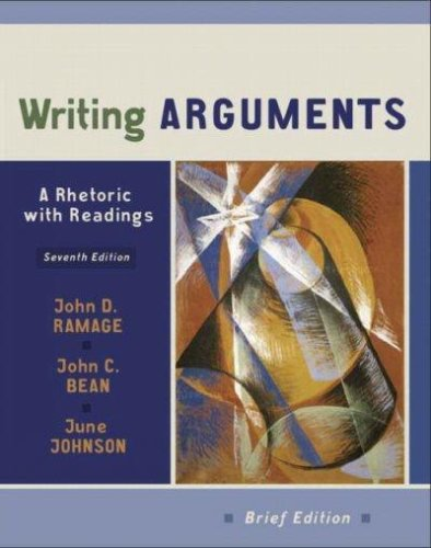 Download Writing Arguments pdf epub