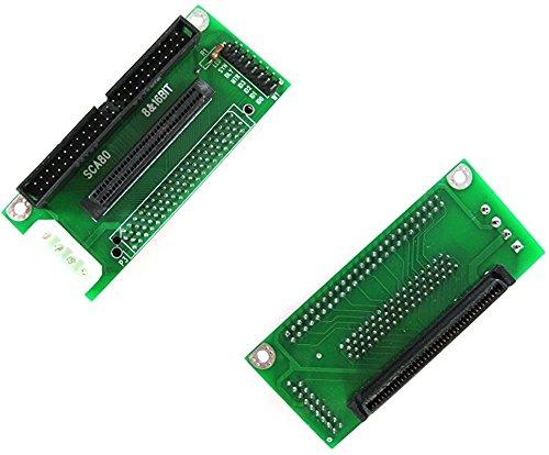 SCSI SCA 80-Pin To SCSI 68-Pin/IDC 50-Pin Adapter SCSI 80-68-50 Card