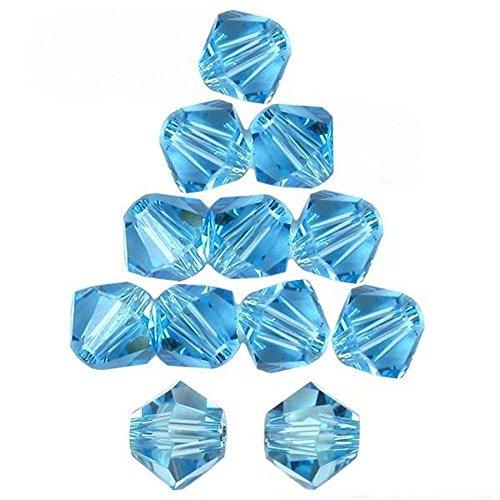 12 Alexandrite Bicone Made With Swarovski Crystal Beads 5301 4mm
