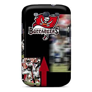 Protector Hard Phone Cases For Galaxy S3 (Jja3524nqDx) Support Personal Customs Beautiful Tampa Bay Buccaneers Pattern