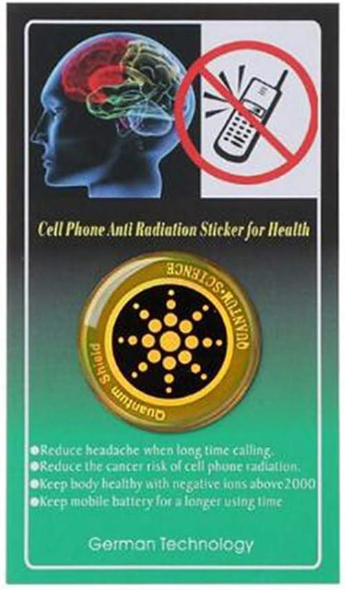 Sansund 1//6//10 pegatinas de protecci/ón contra radiaci/ón para tel/éfono m/óvil