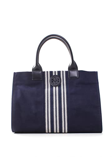0810a7ac776 Amazon.com  Tory Burch Stripe Ella Tote in Tory Navy  Shoes