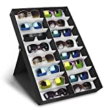 amzdeal Sunglasses Display Eyeglasses Organizer For Watches Jewelry Hair Accessories (16 Slots)