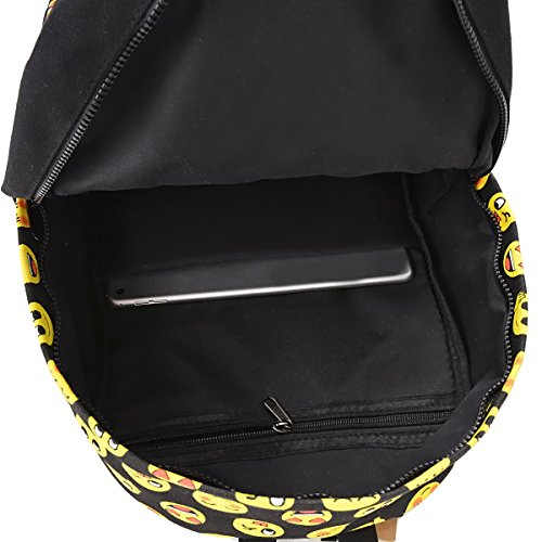 COOFIT School Backpack for Girls Canvas Backpack Laptop Backpacks for Teens by COOFIT (Image #6)