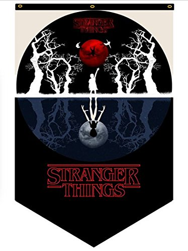 Big Quality Products Stranger Things Fan Banner Polyester for Outdoor and Indoor Flag 50 x 30 in for Decoration